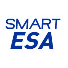 Company logo smart esa logo white background