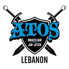 Company logo atos lebanon jiujitsu logo