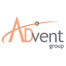 Company logo advent group logo 01 square