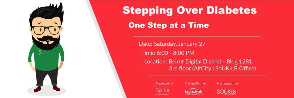 Event cover stepping over diabetes   ihjoz design 01
