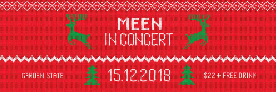 Event cover meen in concert red ihjoz