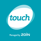 Partner logo touch logo white