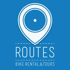Partner logo routes logo