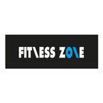 Partner logo fitness zone logo on black